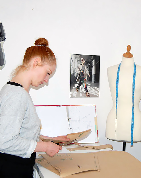 Schnittkonstruktion schnittgestaltung eigene for Kurs modedesign